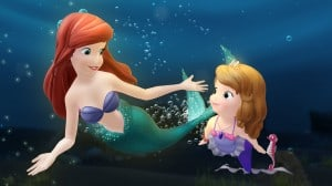 PRINCESS ARIEL, PRINCESS SOFIA the First Under the sea