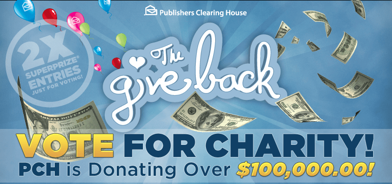 Make Your Giving Count: Vote for St. Jude in the PCH Give Back Event