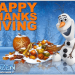 disney frozen movie Thanksgiving