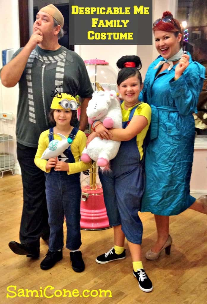 Despicable Me family costume ideas DIY