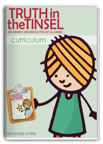 truth in the tinsel curriculum Truth in the Tinsel Advent Book Discount