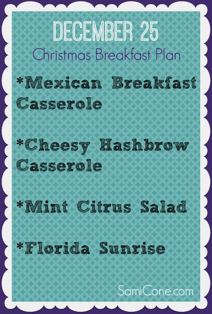 Christmas Breakfast Meal Plan 693x1024 Free Christmas Breakfast Meal Plan
