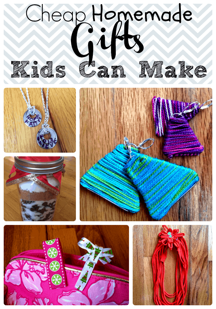 Cheap Homemade Gifts Kids Can Make | SamiCone.com