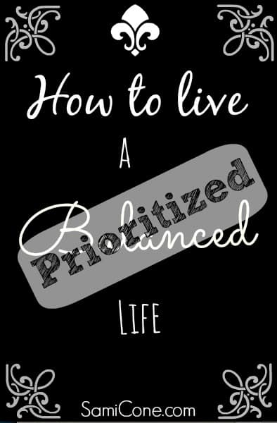 how to live a prioritized life in 2014