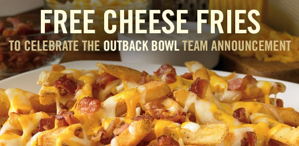 Free Outback Appetizer December 8, 2014