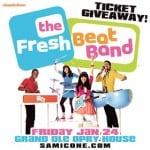 fresh beat band nashville ticket giveaway samicone.com