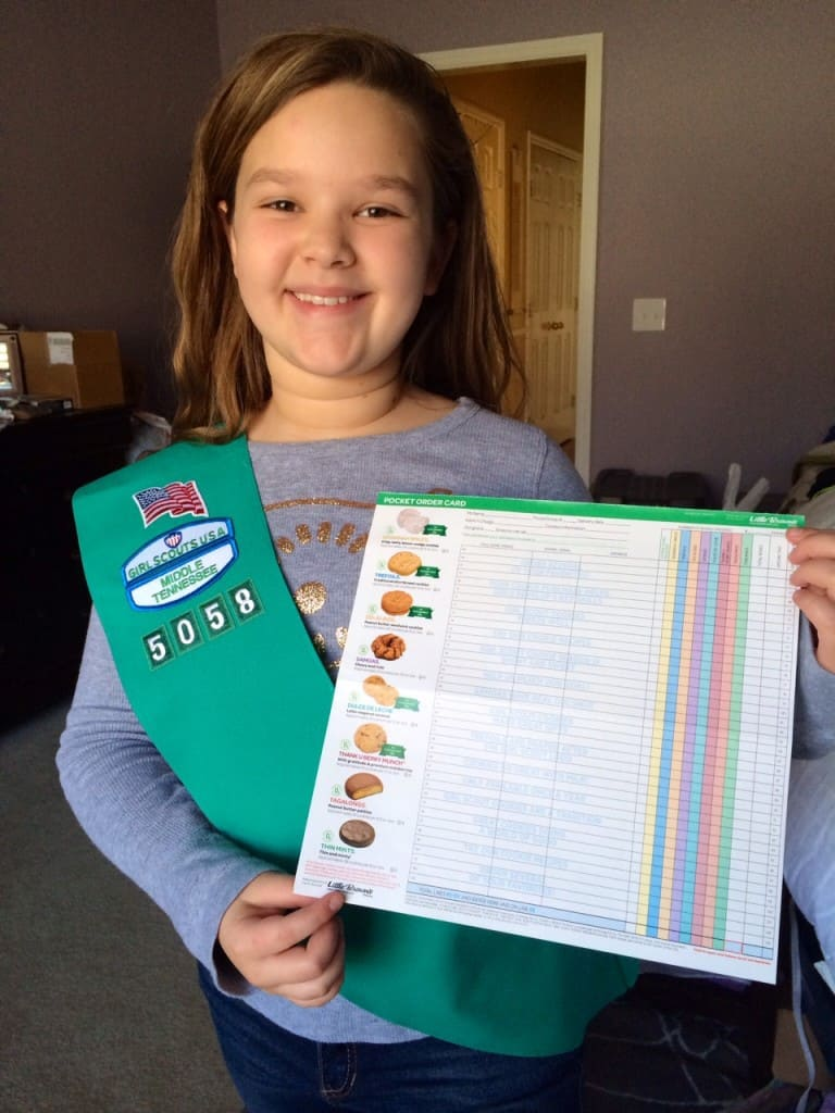 Kariss cone Girl Scout Online Cookie Order