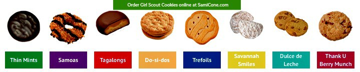 Girl scout cookies online order form