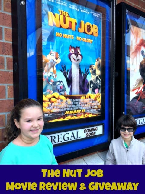 The Nut Job Movie Review (by a 7 Year Old Fan) & Giveaway