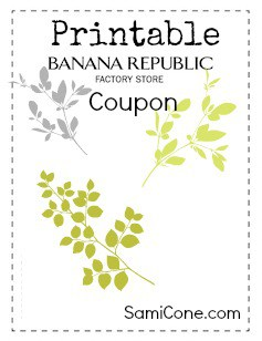 Banana boat printable coupon 2018
