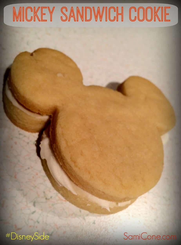 Mickey Sandwich Cookie Recipe