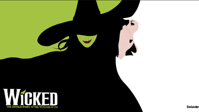 wicked the musical review logo