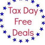tax day free deals 2014