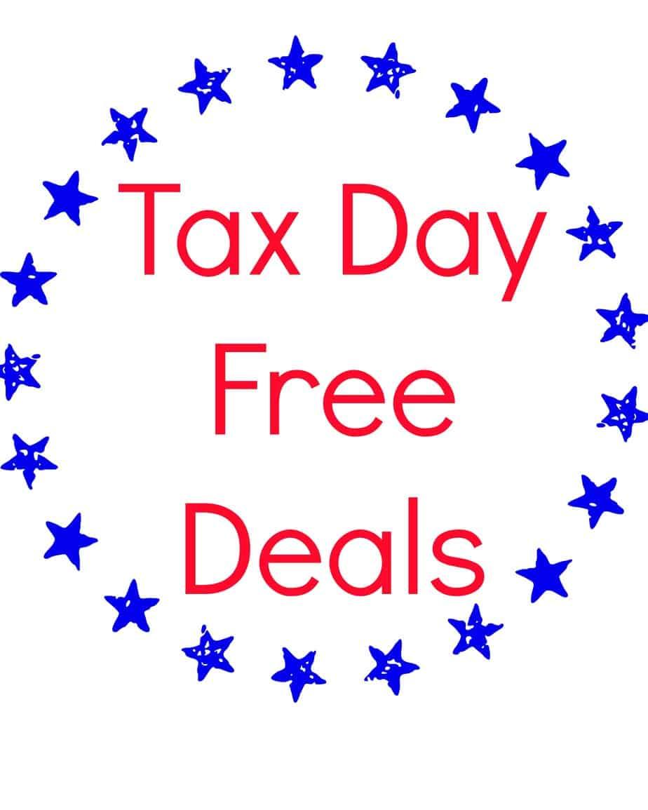 Top deals tax day