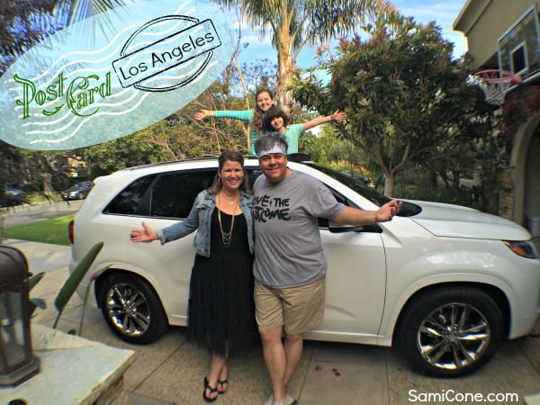 cool kia sorento Seeing LA through sunroofs: the cool Kia Sorento