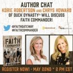 Duck Dynasty Korie Robertson Live Chat FaithGateway