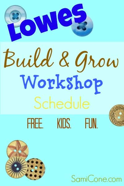 loses build and grow workshop schedule 2014