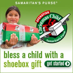 Operation Christmas Child shoebox gift samaritan's purse