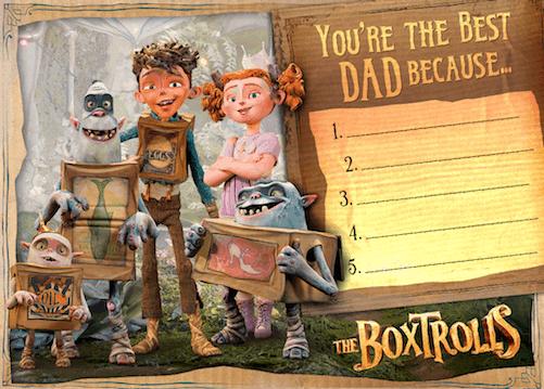 fathers day boxtrolls
