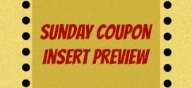 Sunday Coupon Insert Preview August 24, 2014