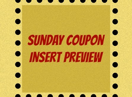 Sunday Coupon Insert Preview August 31, 2014