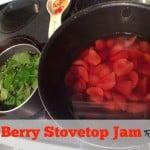 easy berry stovetop jam recipe