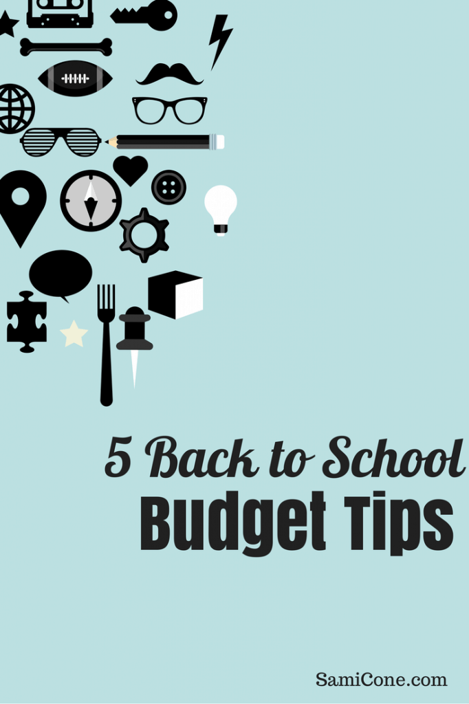 5 Back to School Budget Tips
