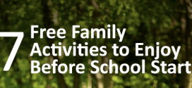 7 Free Family Activities before School Starts