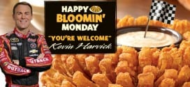 Free Bloomin Onion: Outback Steakhouse