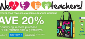 Office Max Teacher Appreciation Days Event