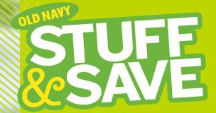 Old Navy Stuff and Save