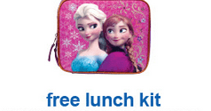 Toys R Us Free Lunch Kit