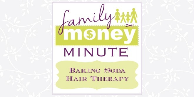 baking soda hair therapy