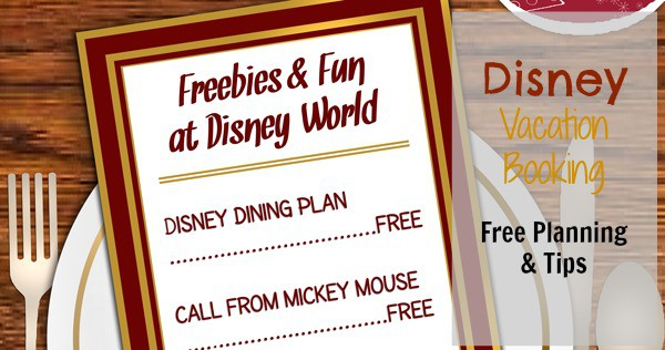disney vacation booking free planning tips