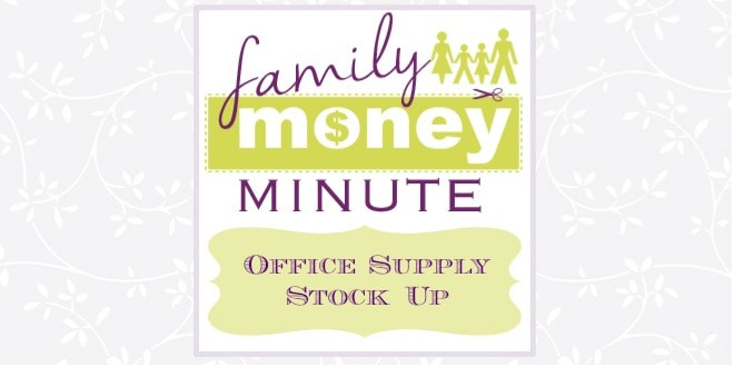 Office Supply Stock Up