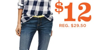 Old Navy One Day Wonder Sale- Jeans for $12