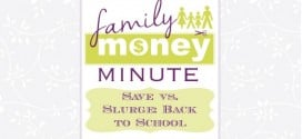 Save vs. Splurge on Back to School