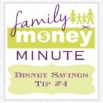 Disney Savings Tip #4