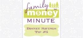 Disney Savings Tip #5