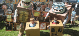 Free Boxtrolls Cardboard Challenges September 13-14