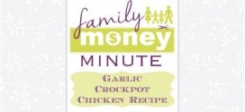 Garlic Crockpot Chicken Recipe