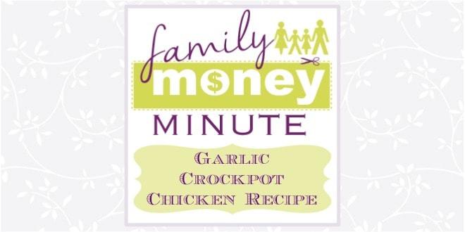 Garlic Crockpot Chicken Recipe