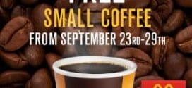 Free Coffee! Free McDonalds McCafe through September 29th