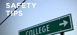 College Safety Tips and Reminders