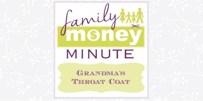 Grandma's Throat Coat