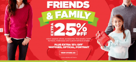 JCPenney Friends and Family Sale Dates 2014