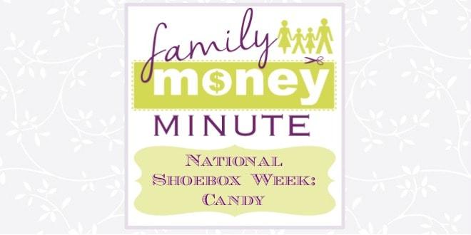 National Shoebox Week Candy