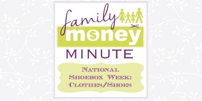 National Shoebox Week ClothesShoes