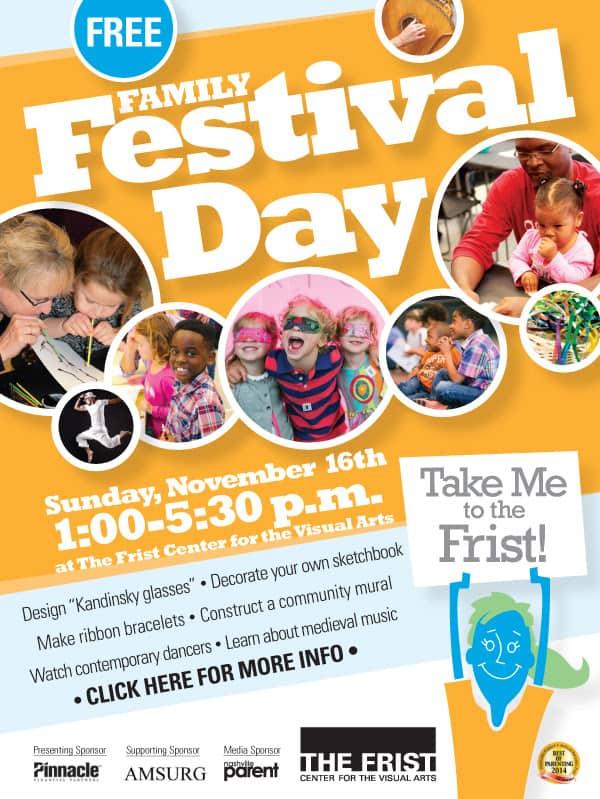 Frist Free Family Festival Day November 16th