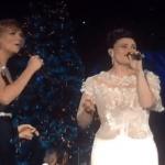 Frozen Let It Go Live Duet CMA Country Christmas Jennifer Nettles Idina Menzel